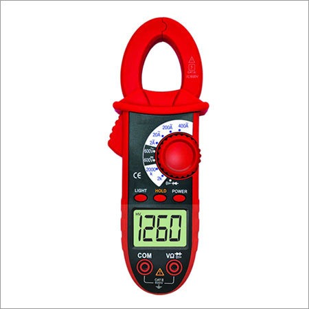 3 1/2 Digit Clampmeter with Resistance