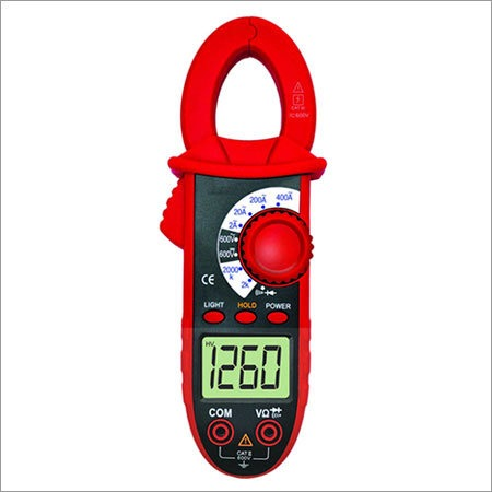 3 1/2 Digit Clampmeter with Temperature & Capacitance