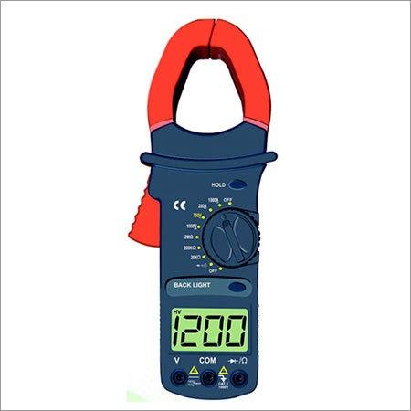 3 1/2 Digit Clampmeter with Temperature