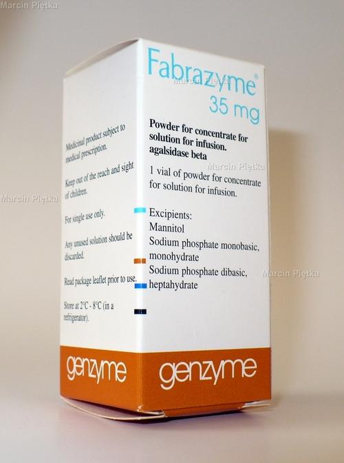 Fabrazyme 35 mg