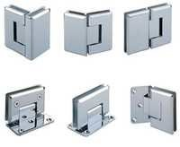 Wall To Glass Hinge((Zinc)