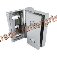 Wall To Glass Hinge(Without Hold) (Zinc)