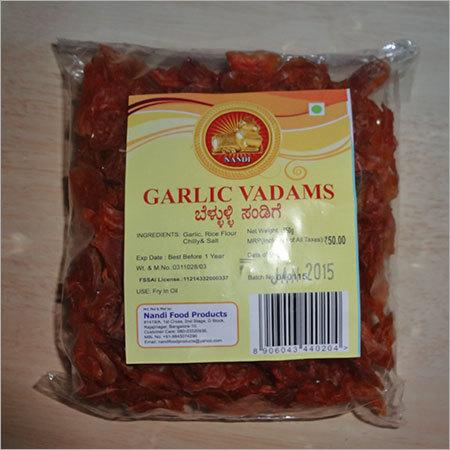 Garlic Vadams