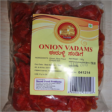 Onion Vadams