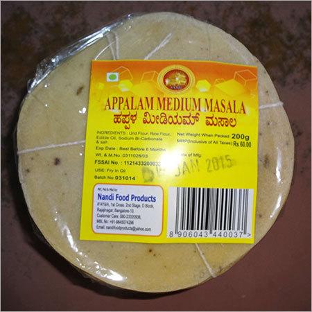 Masala Appalam Papad