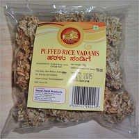 Puffed Rice Vadams