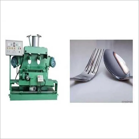 Stainless Steel Cutlery Polishing Machine