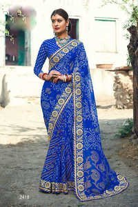 Online Shopping Of Bandhani Saree