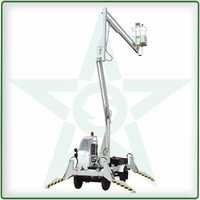 Hydraulic Aerial Access Work Platform (battery operated