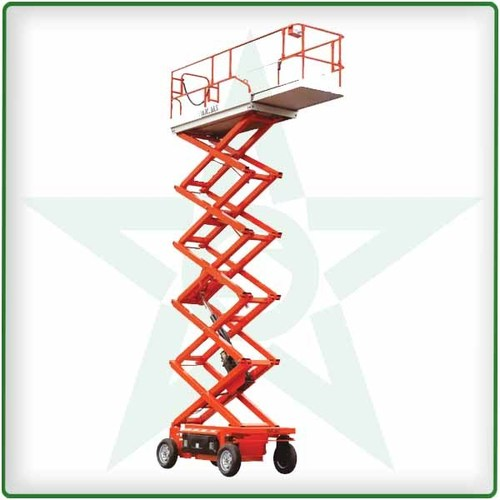 Scissor lift - self propelled - battery operated