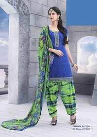 Designer Blue Patiyala