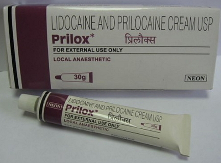 Anesthetic creams