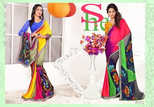 Multicolor Sarees