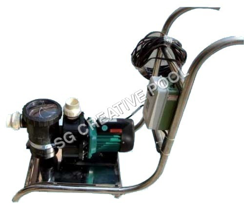 Suction Sweeper Machine With Trolly