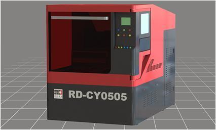 600W YAG Laser Cutting Machine