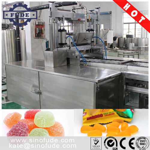 Small Gummy Jelly Candy Production Line
