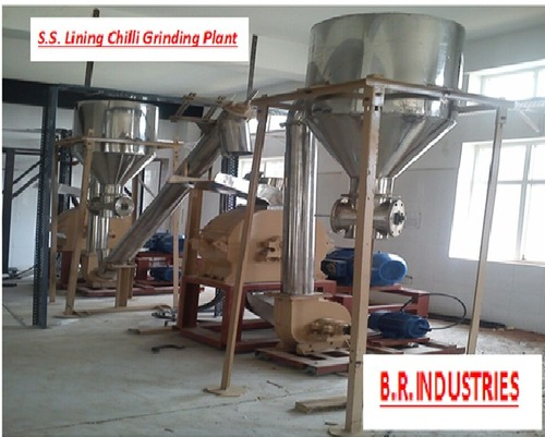Chilli Grinding Plants