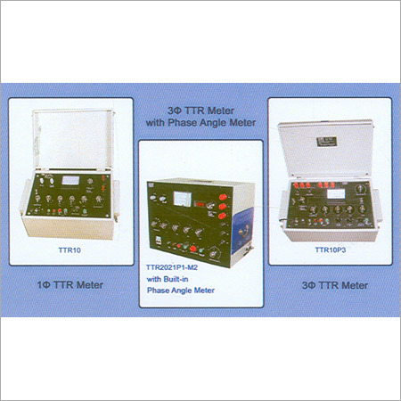 Transformer Turns Ratio Meter Manufacturer Supplier And
