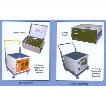 Capacitance & Tan- Delta Test Set Up