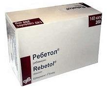Rebetol (Ribavirin) Capsules