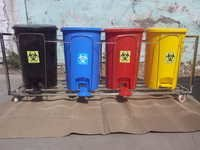 Color Coded Biomedical Waste Bin