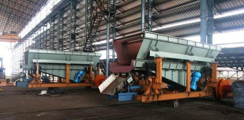 Induction Furnace Charger & Vibrating Furnace Feed