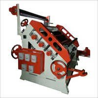 Single Face Oblique Corrugation Machine