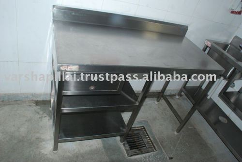 SS Sink with Work Table