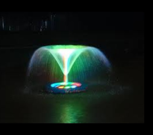 Floating Pond Light Fountain