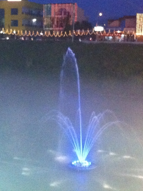 Customized Floating Fountains