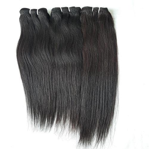 Double Drawn Silky Straight Virgin Human Hair