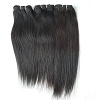 Natural wavy human hair,
