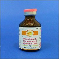 Veterinary Piroxicam and Paracetamol Injection