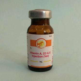 Veterinary Vitamin A D3 E Injection