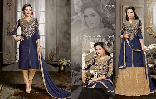 Anarkali Embroidered Salwar Kameez