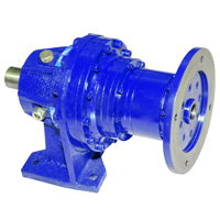 Industrial Foot Mounted Planetary Gearbox