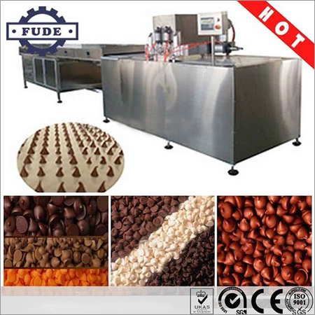 Chocolate Chip Pouring Machine