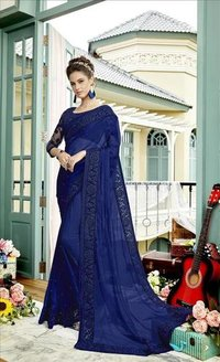 Partywear Georgette Saree