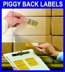 Piggyback Labels