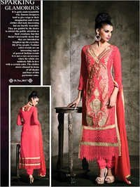 Low Range Peach Color With Matching Duppata & Bottom Suit