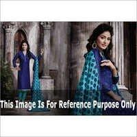 HIna Khan Blue Printed Suit