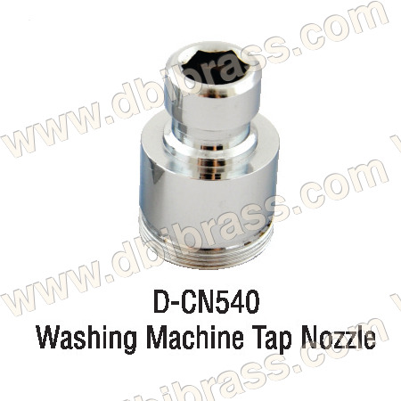 Brass Washing Machine Tap Nozzle