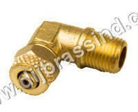 Brass PU Elbow Assembly