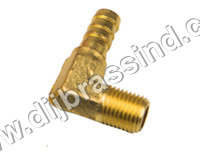Brass Hose Elbow