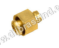 Brass Hose Nut & Nipple Set