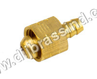 Brass Spray Gun Nut Nipple