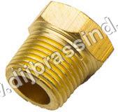 Brass Hex Head Plug ( BSPT )