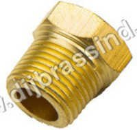 Brass Hex Head Plug ( BSPT )