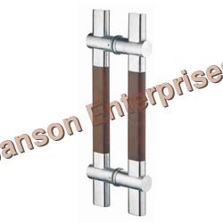 Glass Door H Handle (Wooden Series)