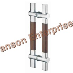 Glass Door H Handle (Wooden Series)